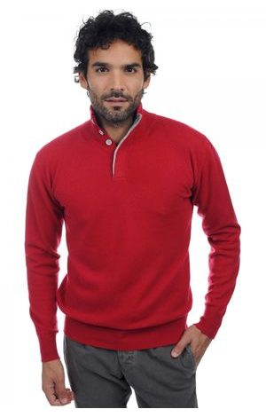 blood red flanelle chine